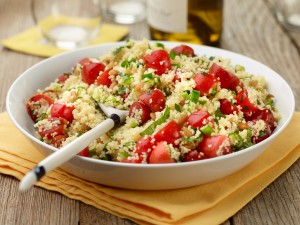 Chef Name: Food Network Kitchen Full Recipe Name: Couscous Salad with Tomatoes and Mint Talent Recipe: FNK Recipe: Food Network Kitchen's Couscous Salad with Tomatoes and Mint, as seen on Food Network Project: Foodnetwork.com, CINCO/SUMMER/FATHERSDAY Show Name: How to Boil Water