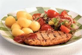 vegetarische filet met krieltjes