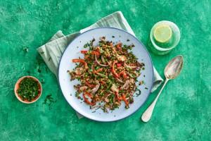 groene quinoa roerbak